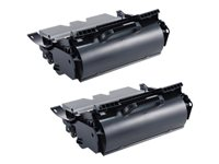 Dell High Capacity 'Use and Return' Toner - Hög kapacitet - svart - original - tonerkassett - för Dell 1720, 1720dn 593-10237